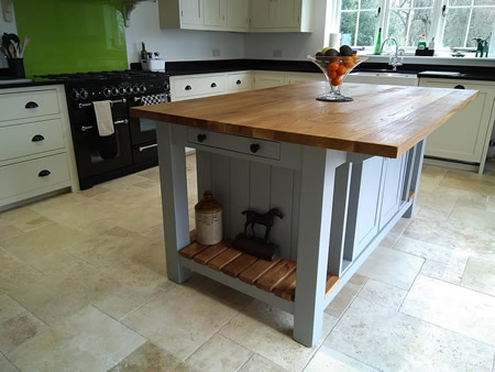 Freestanding Kitchen Islands in Any Size & Colour