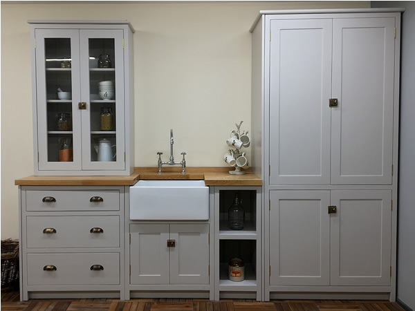 bespoke painted kitchens handmade in solid wood